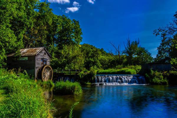 Photograph - Hyde's Mill by Randy Scherkenbach