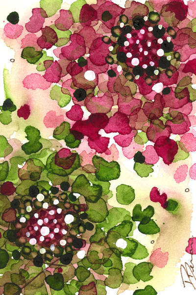 Painting - Hydrangea by Dawn Derman