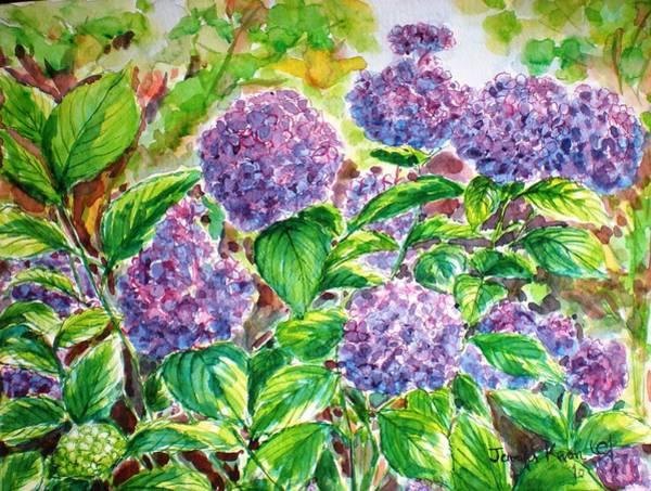 Wall Art - Painting - Hydrangea by Jennifer Kwon