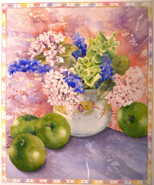 Wall Art - Photograph - Hydrangeas And Hyacinths by MGL Meiklejohn Graphics Licensing