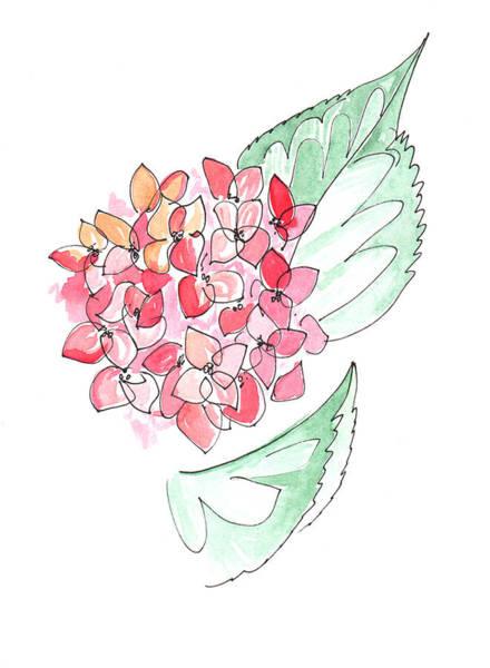 Painting - Hydrangeas by Anna Elkins