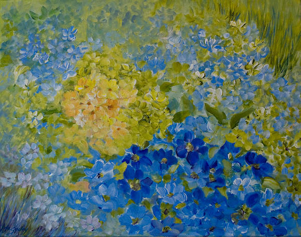 Painting - Hydrangeas by Joanne Smoley