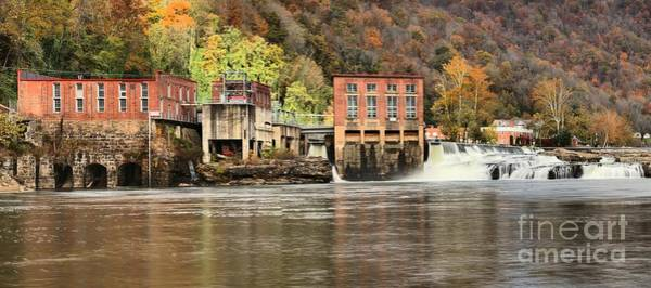 Photograph - Glen Ferris Hydroelectric Plant by Adam Jewell