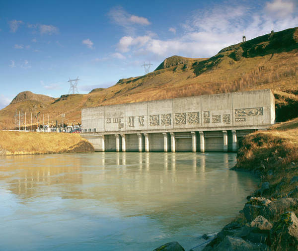 Wall Art - Photograph - Hydroelectric Power Station by Martin Bond/science Photo Library