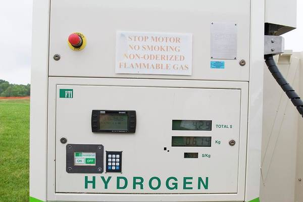 Flammable Photograph - Hydrogen Fuel Pump by Jim West