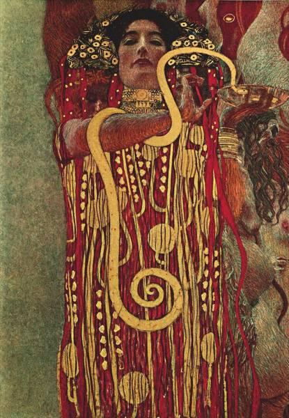 Painting - Hygeia by Gustav Klimt