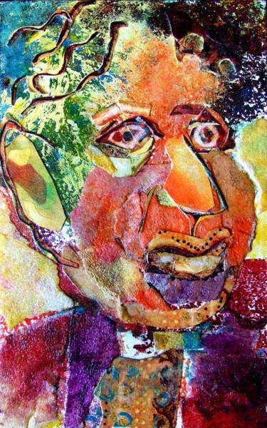 Caricature Mixed Media - Hymie by Diane Fine