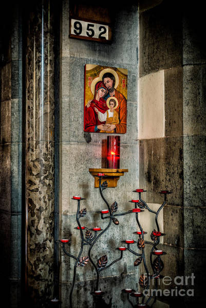 Holy Trinity Photograph - Hymn 952 by Adrian Evans