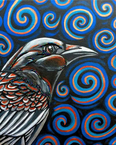 Wall Art - Photograph - Hyper Raven by Sarah Crumpler