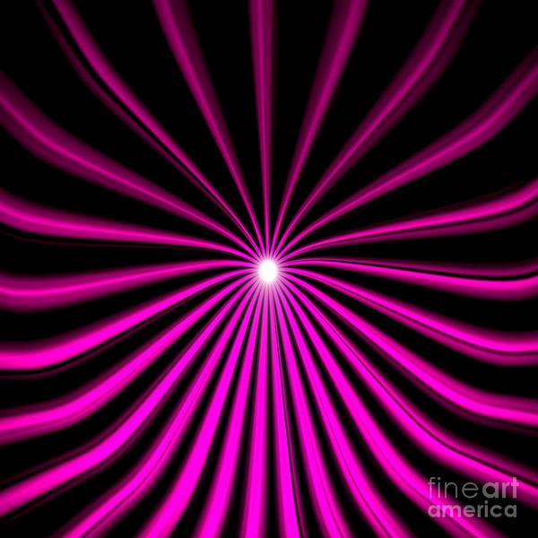 Drawing - Hyperspace Violet Square by Pet Serrano