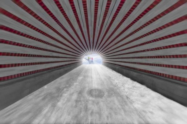 Photograph - Hypnotic Playmates Arch by Susan Candelario