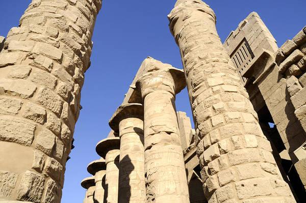 Photograph - Hypostyle Hall At Karnak by Brenda Kean