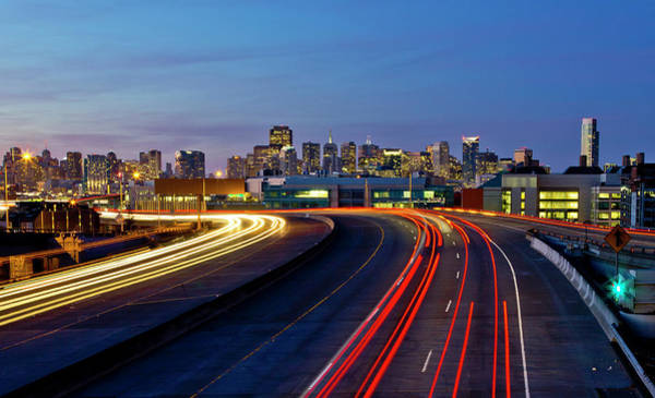 Rush Hour Photograph - I-280 by J. Andre Clark