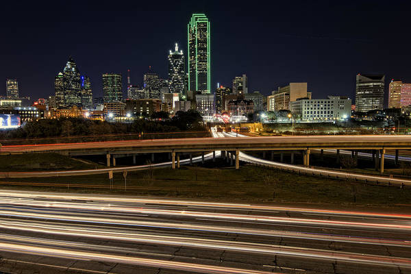 Photograph - I-35e Dallas by Rick Berk