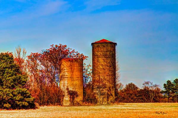 Photograph - I-55 Silos by Barry Jones