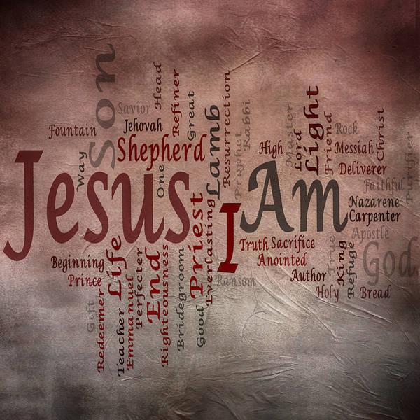 Lamb Of God Wall Art - Mixed Media - I Am 1 by Angelina Tamez
