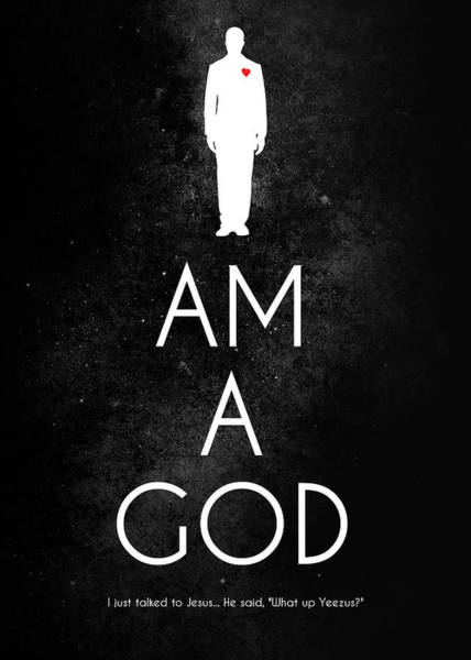 Wall Art - Photograph - I Am A God by Damion Lawrence
