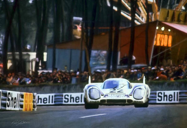 Lemans Wall Art - Digital Art - I Am Legend Porsche 917 by Peter Chilelli