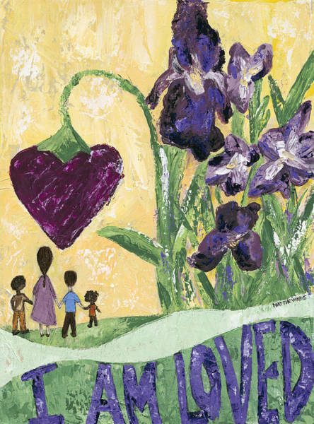 Wall Art - Painting - I Am Loved by Kirsten Reed