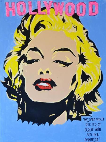 Super Hero Mixed Media - I Am Marilyn by Caesaray Starbuck
