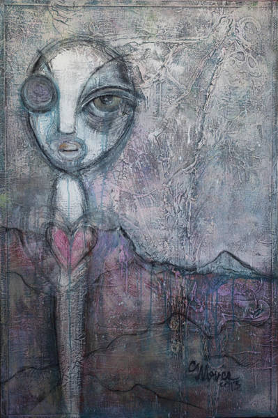 Painting - I Am Not Alone by Laurie Maves ART