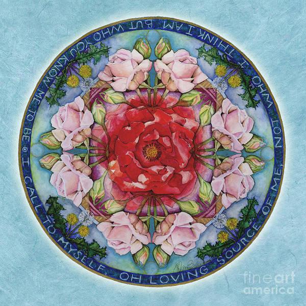 Painting - I Am That Mandala by Jo Thomas Blaine