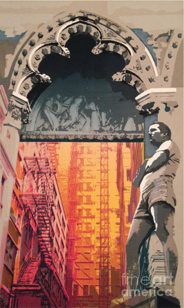 Wall Art - Mixed Media - I Am The Rock by Ellen Moore Osborne
