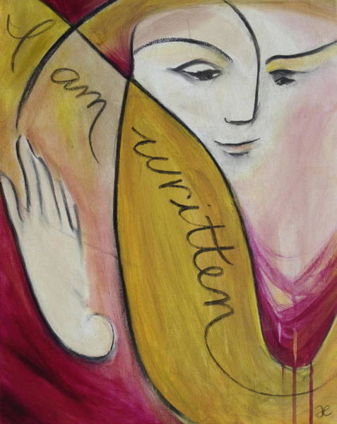 Painting - I Am Written by Anna Elkins