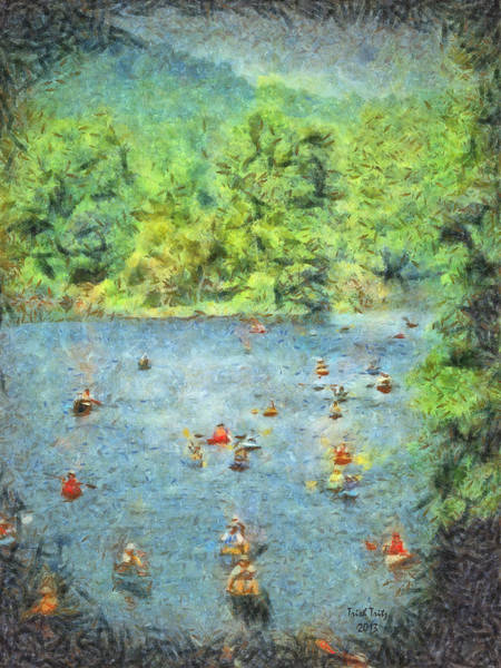Photograph - I Can Canoe by Trish Tritz