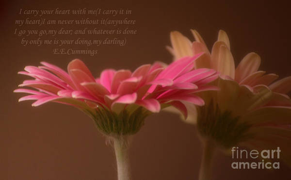 Photograph - I Carry Your Heart by Rima Biswas