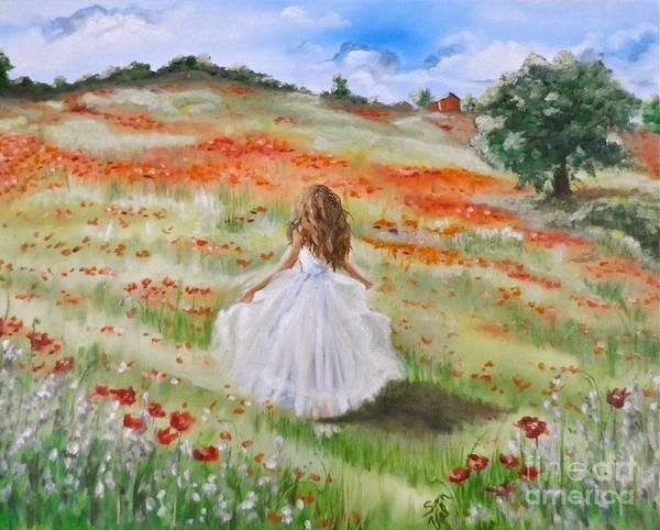 Wall Art - Painting - I Dance by Sandra Valentini