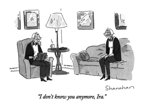 September 16th Drawing - I Don't Know You Anymore by Danny Shanahan