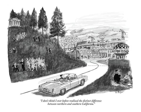 Urban Drawing - I Don't Think I Ever Before-realized The Distinct by Warren Miller