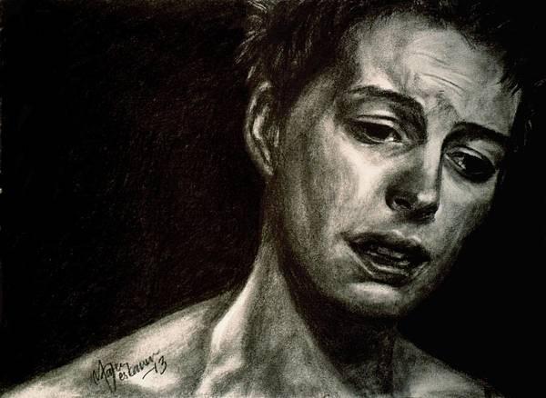Miserable Drawing - I Dreamed That Love Would Never Die by Maren Jeskanen