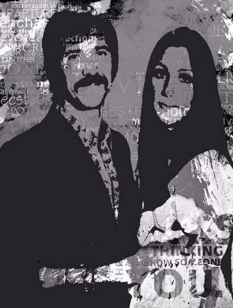 Sonny Bono Wall Art - Digital Art - I Got You Babe by Trisha Buchanan