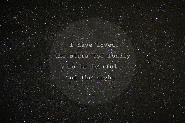 Perseid Wall Art - Photograph - I Have Loved The Stars Too Fondly by Violet Gray
