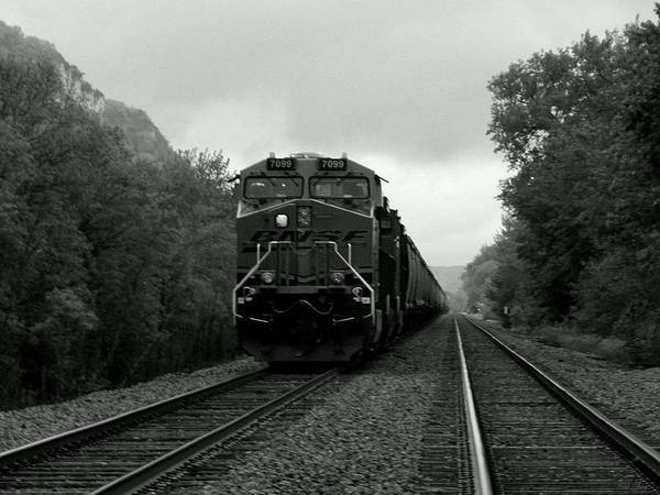 Photograph - I Hear The Train by Wild Thing