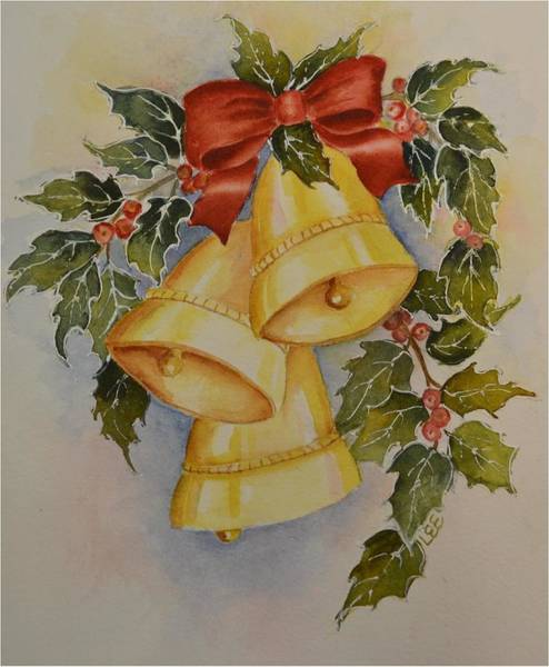 Painting - I Heard The Bells by Pamela Lee