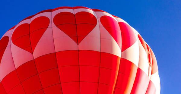 Photograph - I Heart Balloons by Teri Virbickis