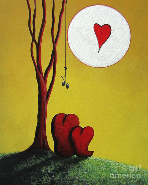 Wall Art - Painting - I Heart You By Shawna Erback by Erback Art