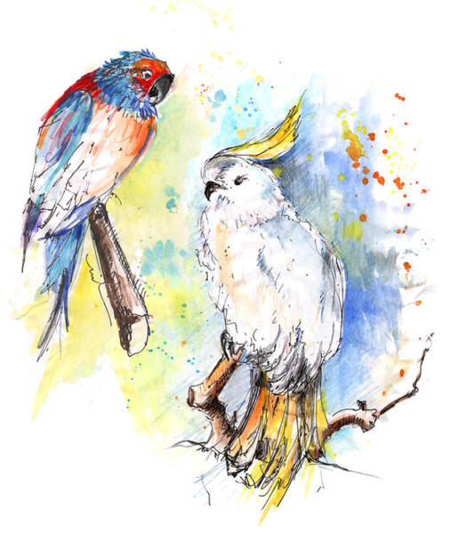 Painting - I Like Your Style by Miki De Goodaboom