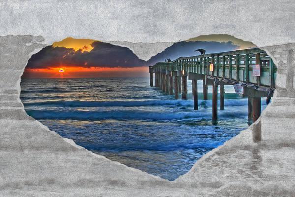 Photograph - I Love Beach Sunrises by Alice Gipson