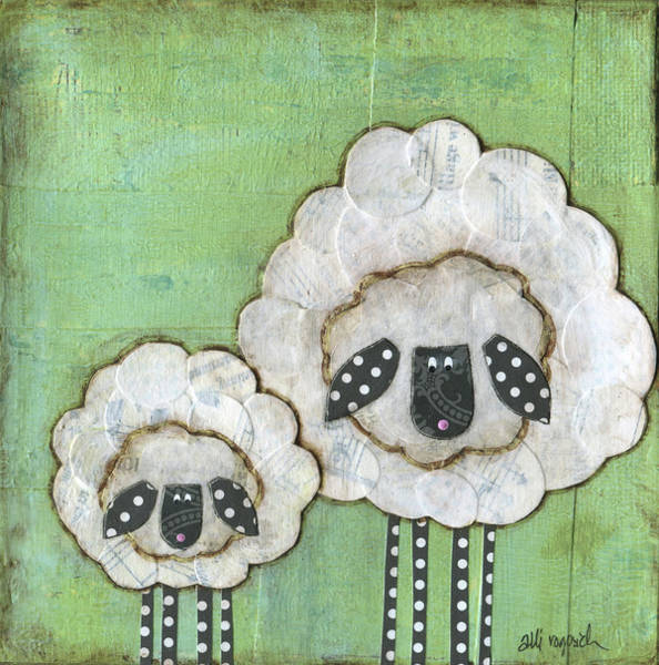 Farm Painting - I Love Ewe So Much by Alli Rogosich