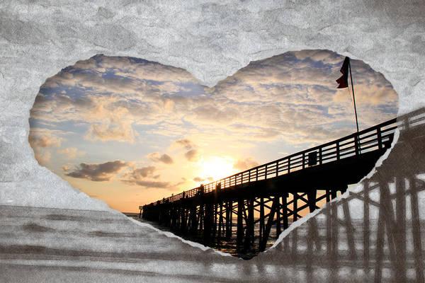 Photograph - I Love Flagler Beach by Alice Gipson