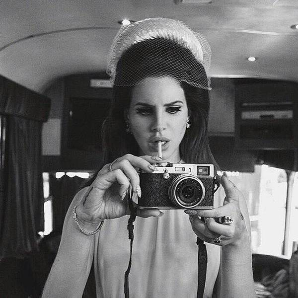 Wall Art - Photograph - I Love How She's Vintage #lanadelrey by Tyler McGath