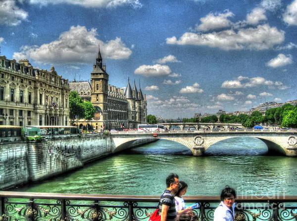 She Mixed Media - i love Paris by Yury Bashkin