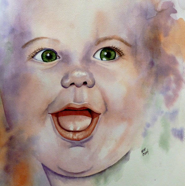 I Love You Baby Art Print