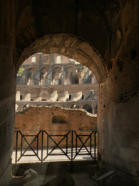 Photograph - Il Magnifici Archi by Micki Findlay