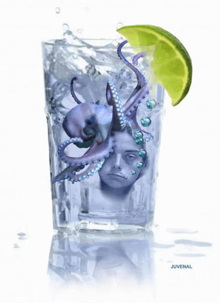 Drunk Mixed Media - I Make A Killer Drink by Joseph Juvenal