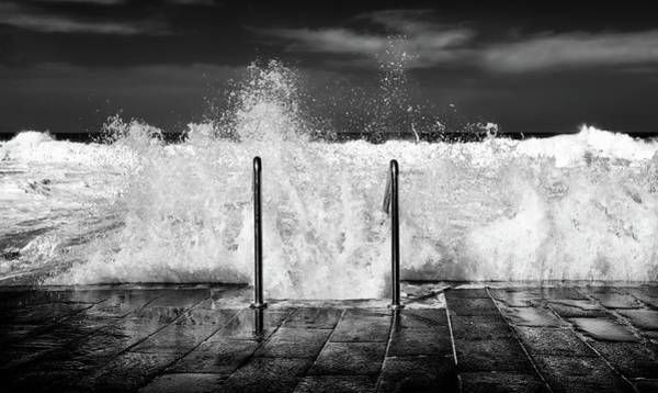 Splash Photograph - I Need The Sea... by Piera Polo